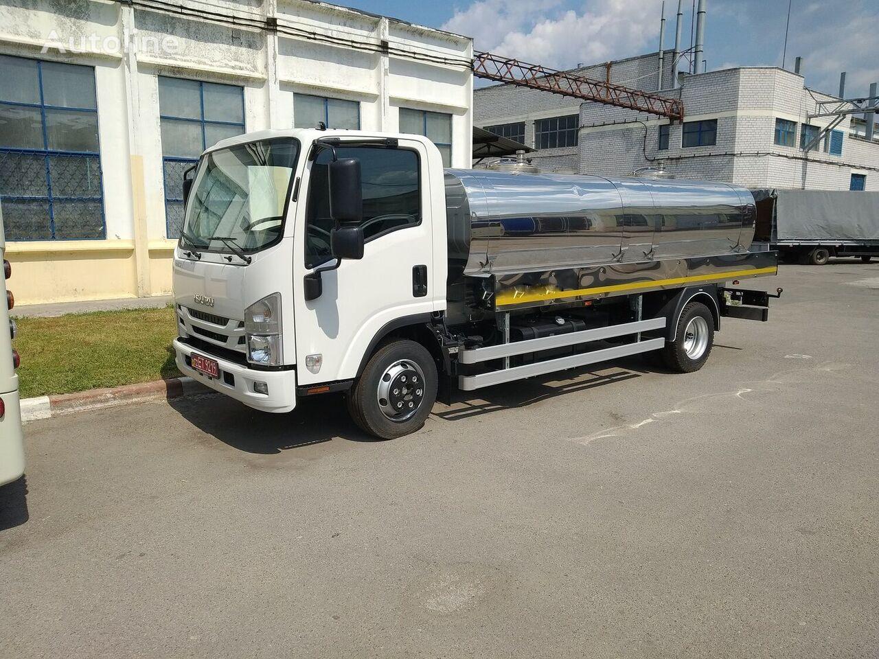новый молоковоз ISUZU NQR-90
