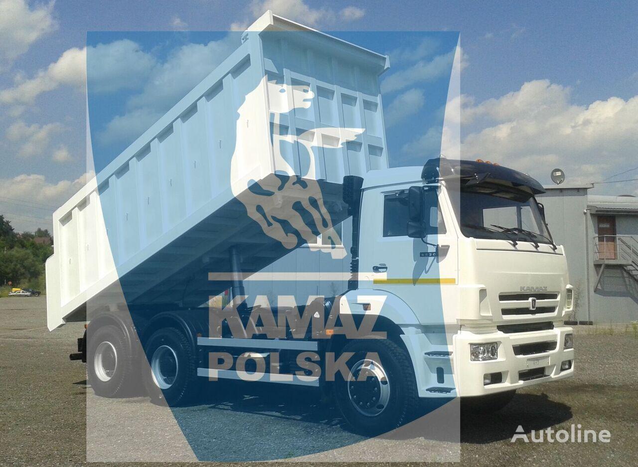 новый самосвал КАМАЗ 6w4 wywrotka Euro 6D