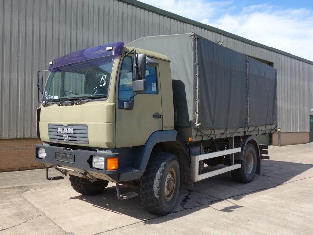 тентованный грузовик MAN 10.185