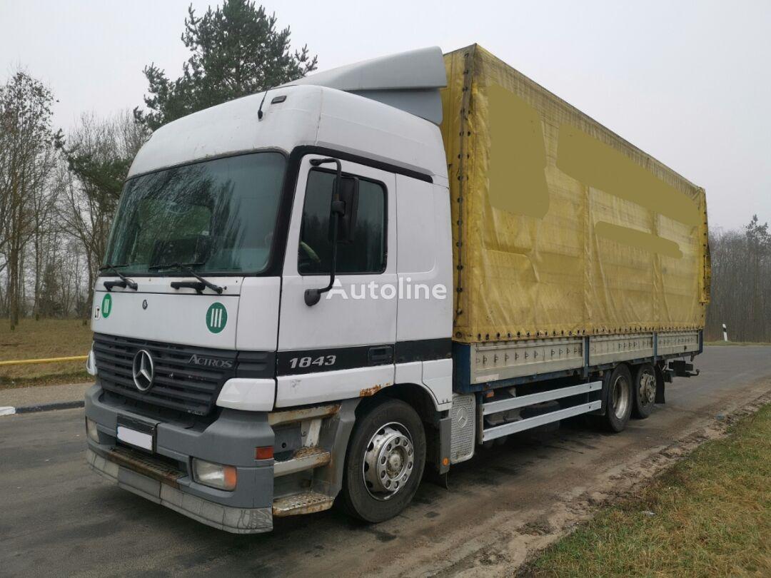 тентованный грузовик MERCEDES-BENZ 2543