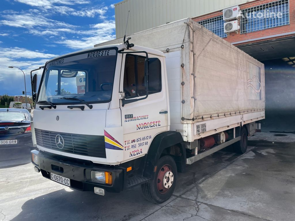тентованный грузовик MERCEDES-BENZ 817