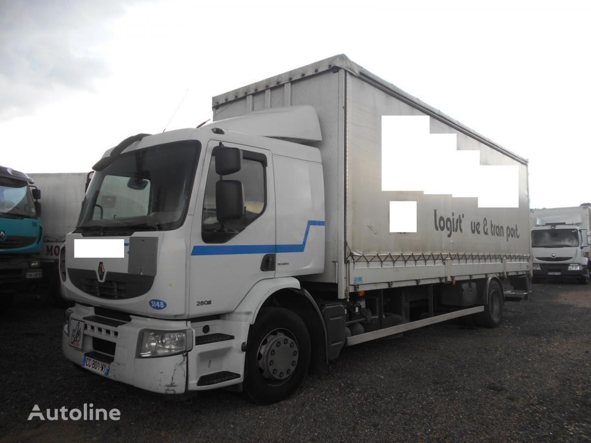 тентованный грузовик RENAULT Premium 280 DXI