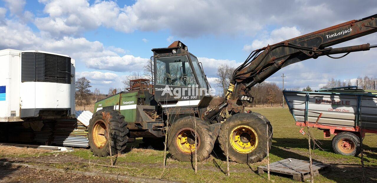 харвестер TIMBERJACK FMG 990 harvester maszyna leśna do wycinki drzew wycinka drewna