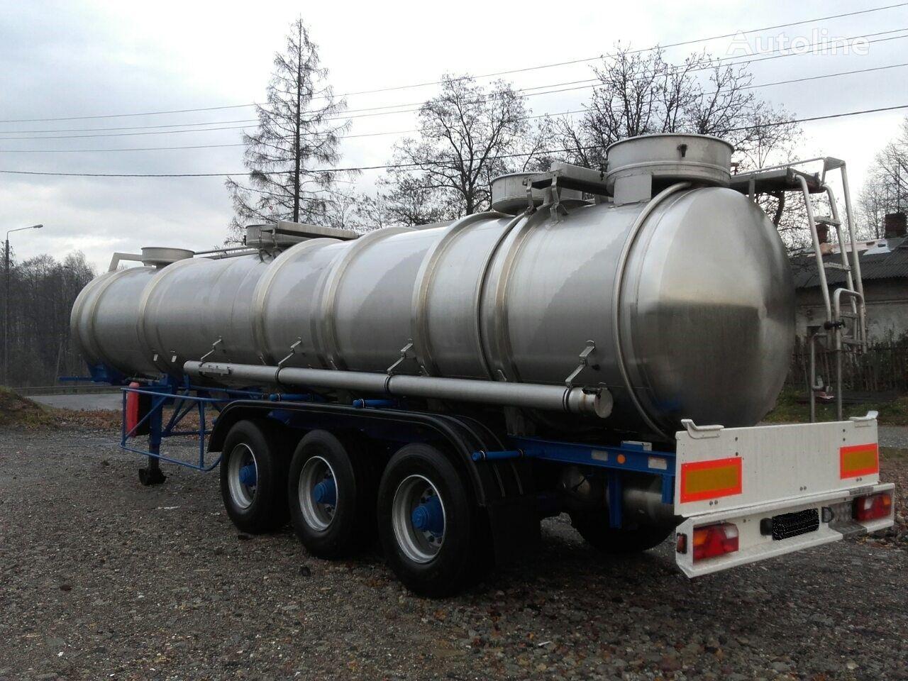 химическая цистерна MAGYAR SR34EF     21400L//4Bary//1Komora//