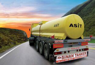 новая химическая цистерна SINAN / ACID TANKER