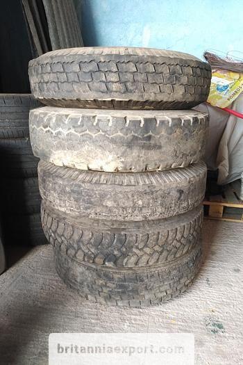 колесо 5 x used 7.50-16 LT tyres on 6 studs rims