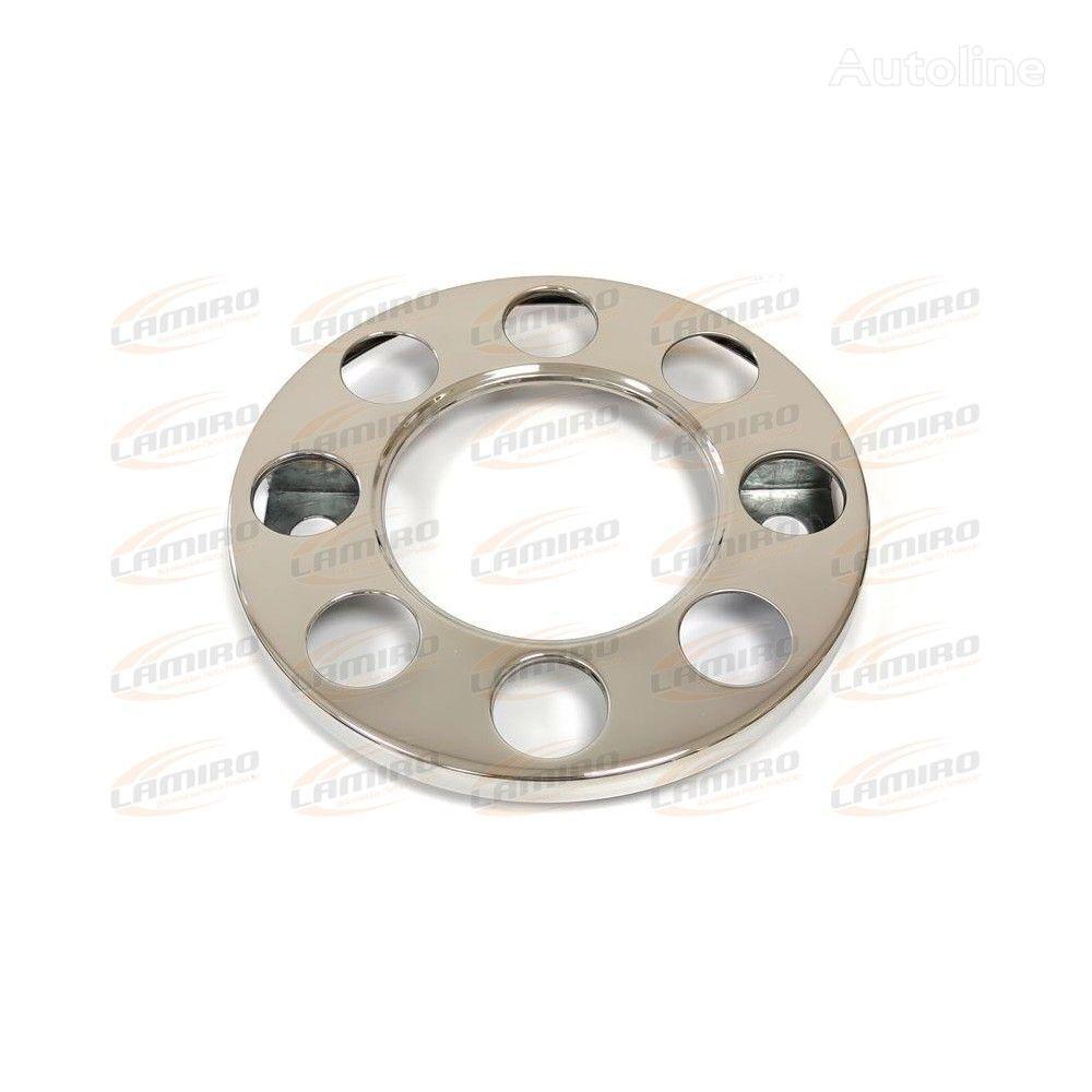 новый колпак колесный Wheel cover, 8 holes, stainless steel 19,5 inch