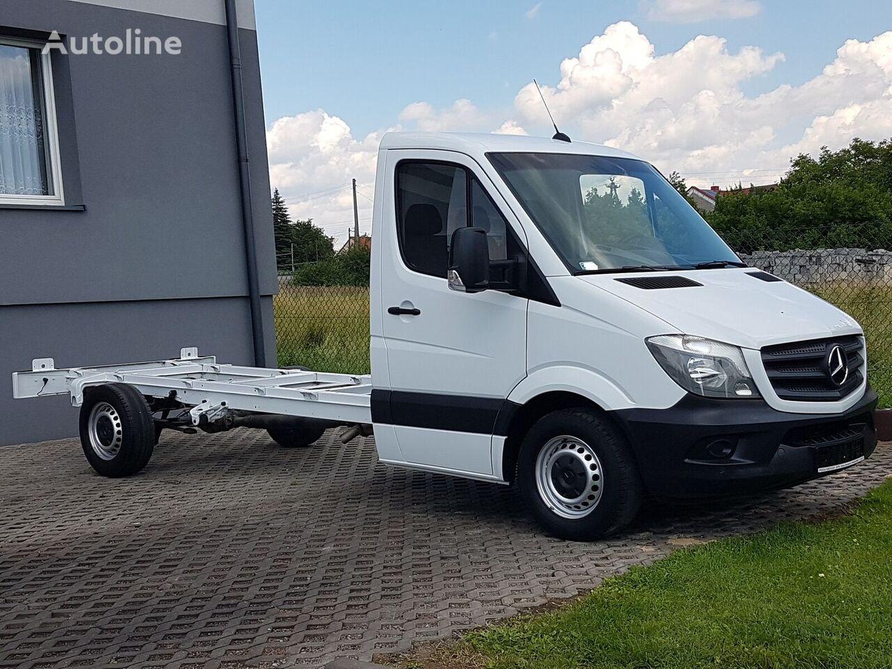 грузовик шасси < 3.5т MERCEDES-BENZ SPRINTER 313 CDI RAMA DO ZABUDOWY 4,35 M KLIMA PODWOZIE WIDELEC