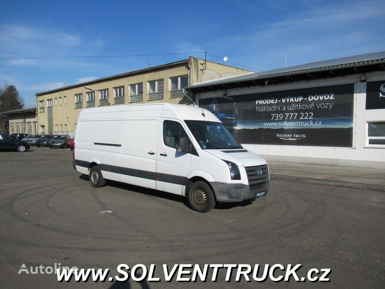 микроавтобус фургон VOLKSWAGEN Crafter 2.5