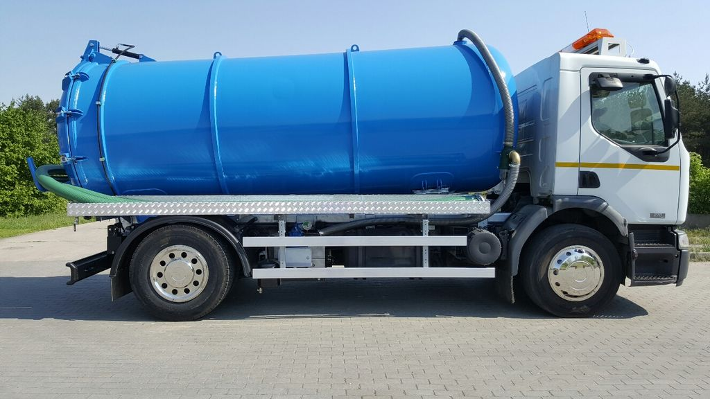 ассенизатор RENAULT Vacuum water and pressure vehicle