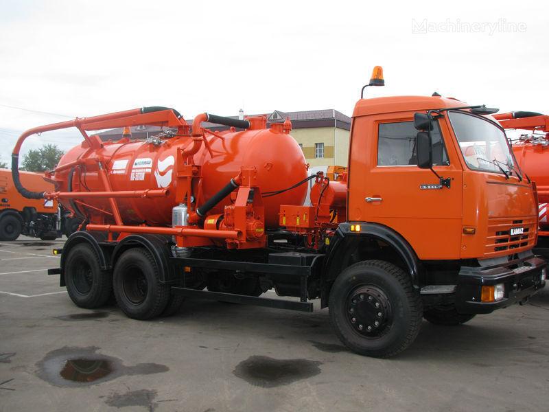 новый ассенизатор КАМАЗ Илососная машина КО-507А-3