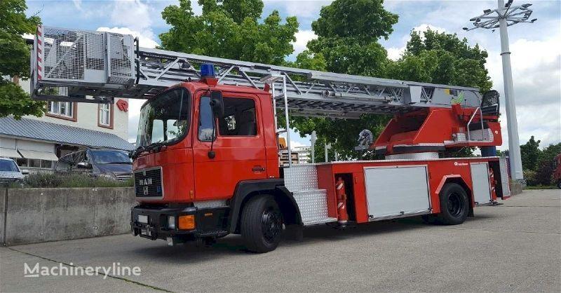 пожарная автолестница MAN F20135 - Rosenbauer L32 PLC 3.0