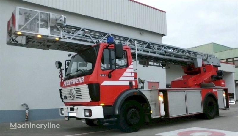 пожарная автолестница MERCEDES-BENZ F20133 - Metz L32 PLC 2 - Fire truck - Turntable ladder