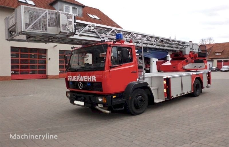 пожарная автолестница MERCEDES-BENZ F20134 -  Metz DLK 23-12 PLC 2.1 Fire truck - Turntable ladder