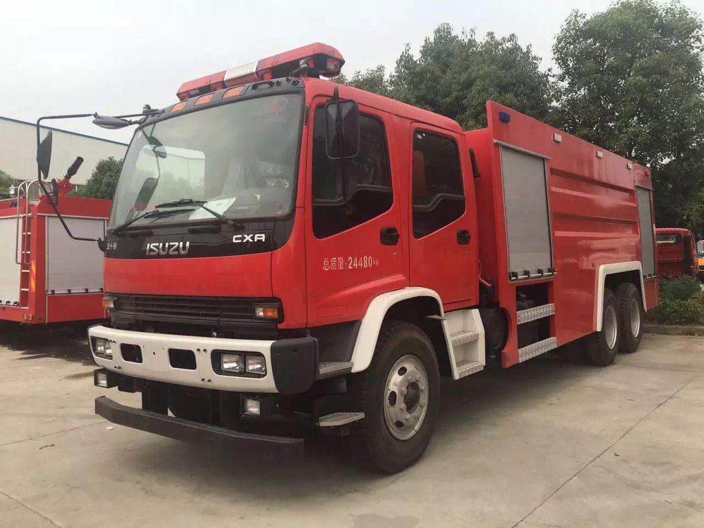 новая пожарная машина ISUZU CXR and FVZ
