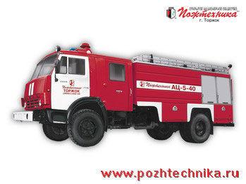 пожарная машина КАМАЗ АЦ-5-40