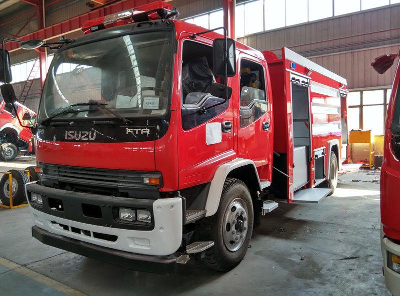 новый пожарная насосная станция ISUZU FTR