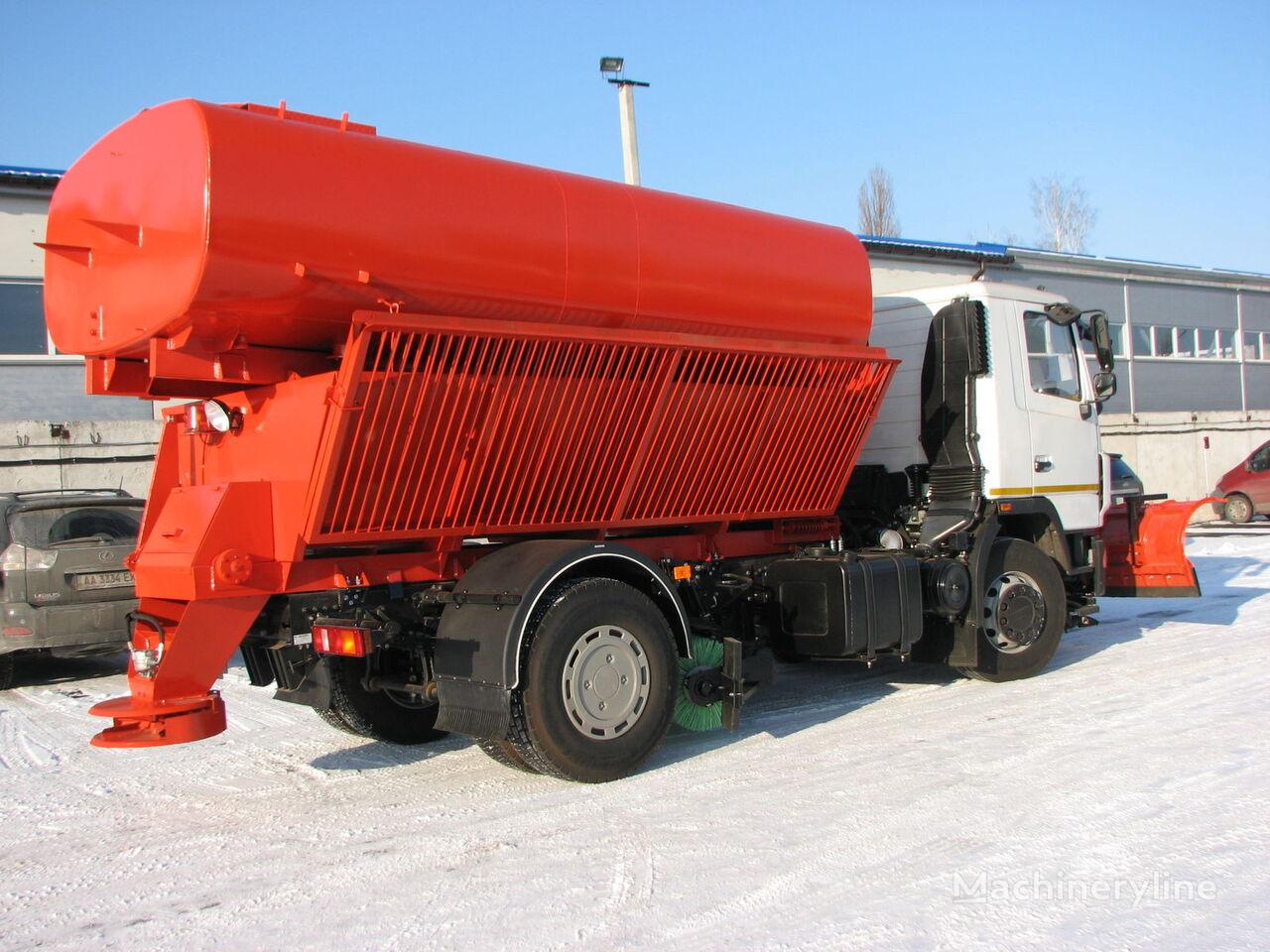 снегоуборочная машина МАЗ МДКЗ-12 МАЗ-5340C2