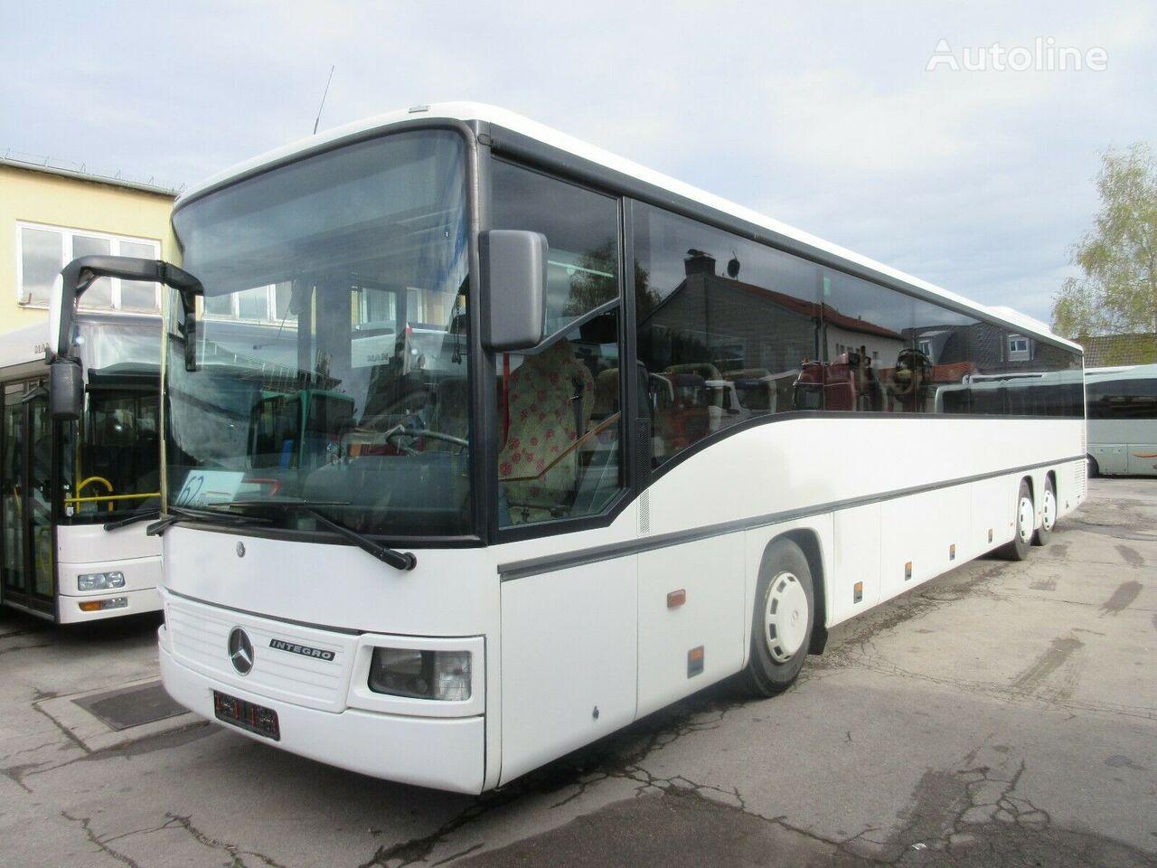 междугородний-пригородный автобус MERCEDES-BENZ Integro O 550 L/deutsches Fahrzeug