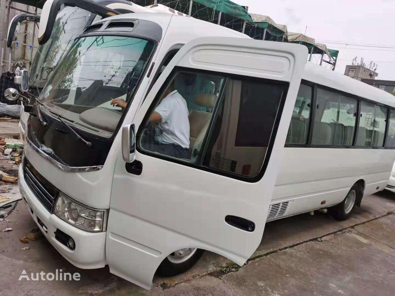 междугородний-пригородный автобус TOYOTA 2018 coaster bus 30 seats 1HZ less running 28000 km in good cond