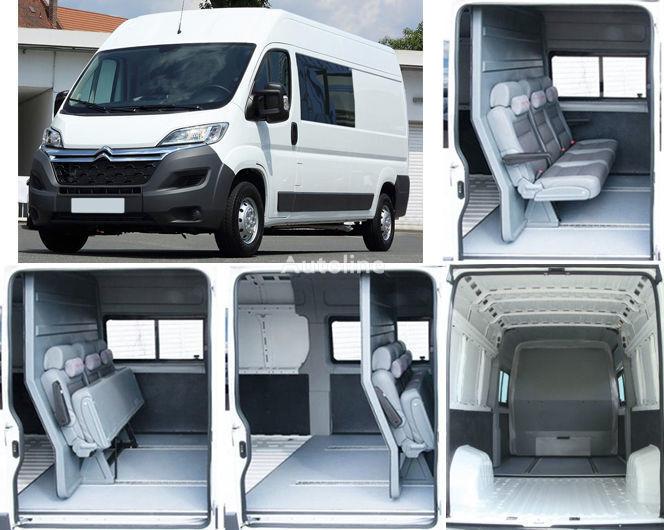 новый грузопассажирский микроавтобус CITROEN Jumper