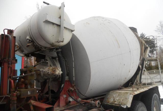 барабан смесительный LIEBHERR concrete mixer, betonmischer, gruszka do betonu 7m3