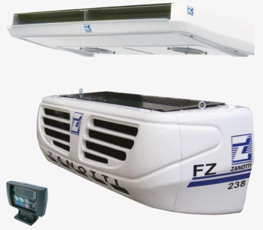 новая холодильная установка ZANOTTI SFZ238S01F