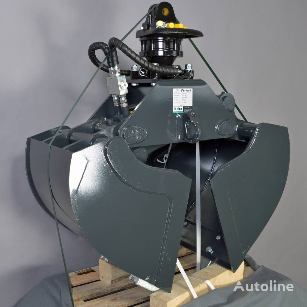 новый кран-манипулятор FERRARI Zweischalengreifer FCB 125 + Rotator FR 35 F