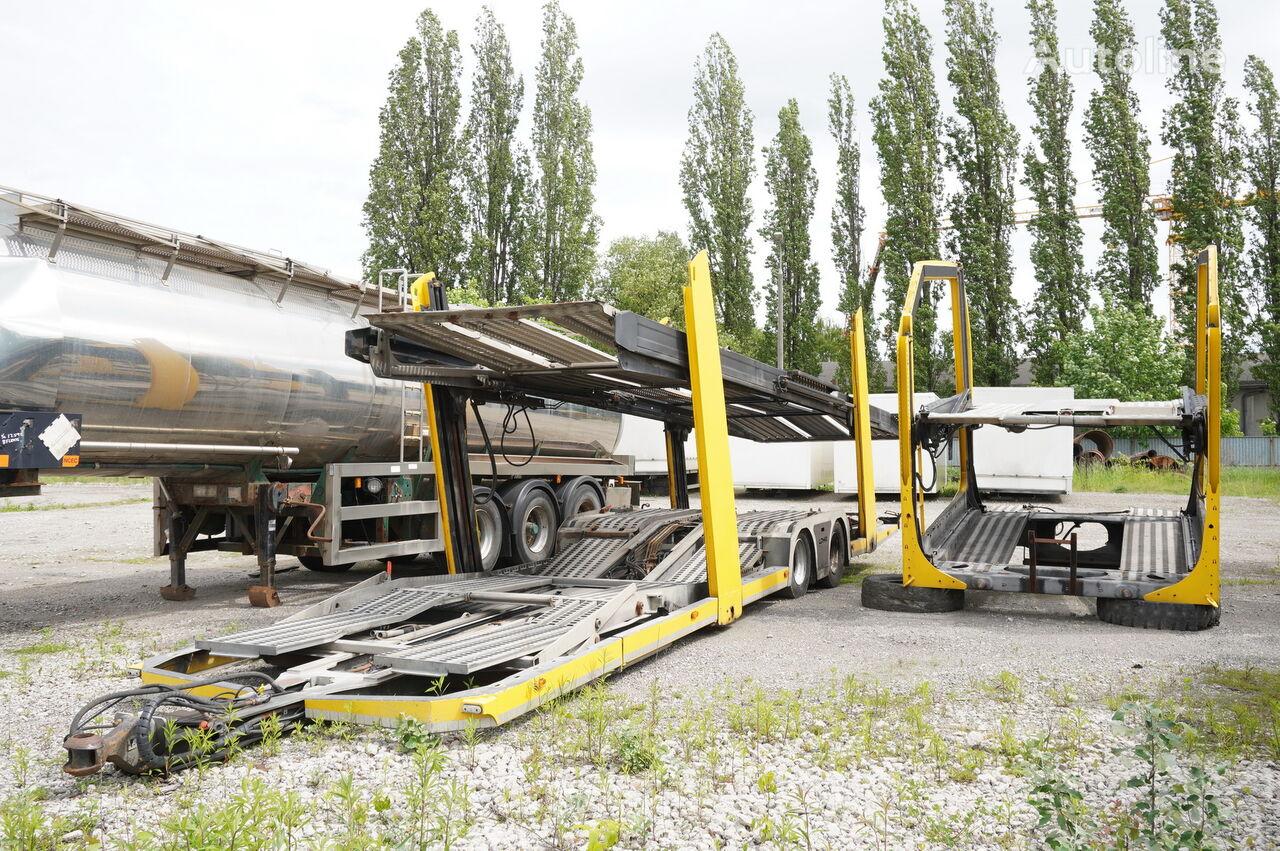 кузов-автовоз LOHR 1.21 Autotransporter Body + trailer set, 8 - 12 cars