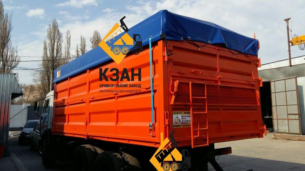 новый самосвальный кузов КАМАЗ 5320