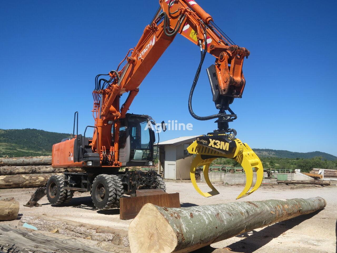новый захват для леса X3M