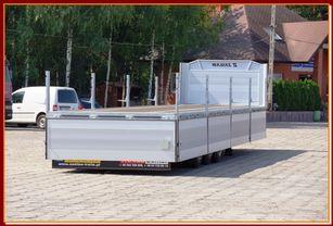 новый полуприцеп бортовой ZASŁAW TRAILIS BURTOWA BUDOWLANA 13,60 m/ SUPER STRONG / READY TO GO !!