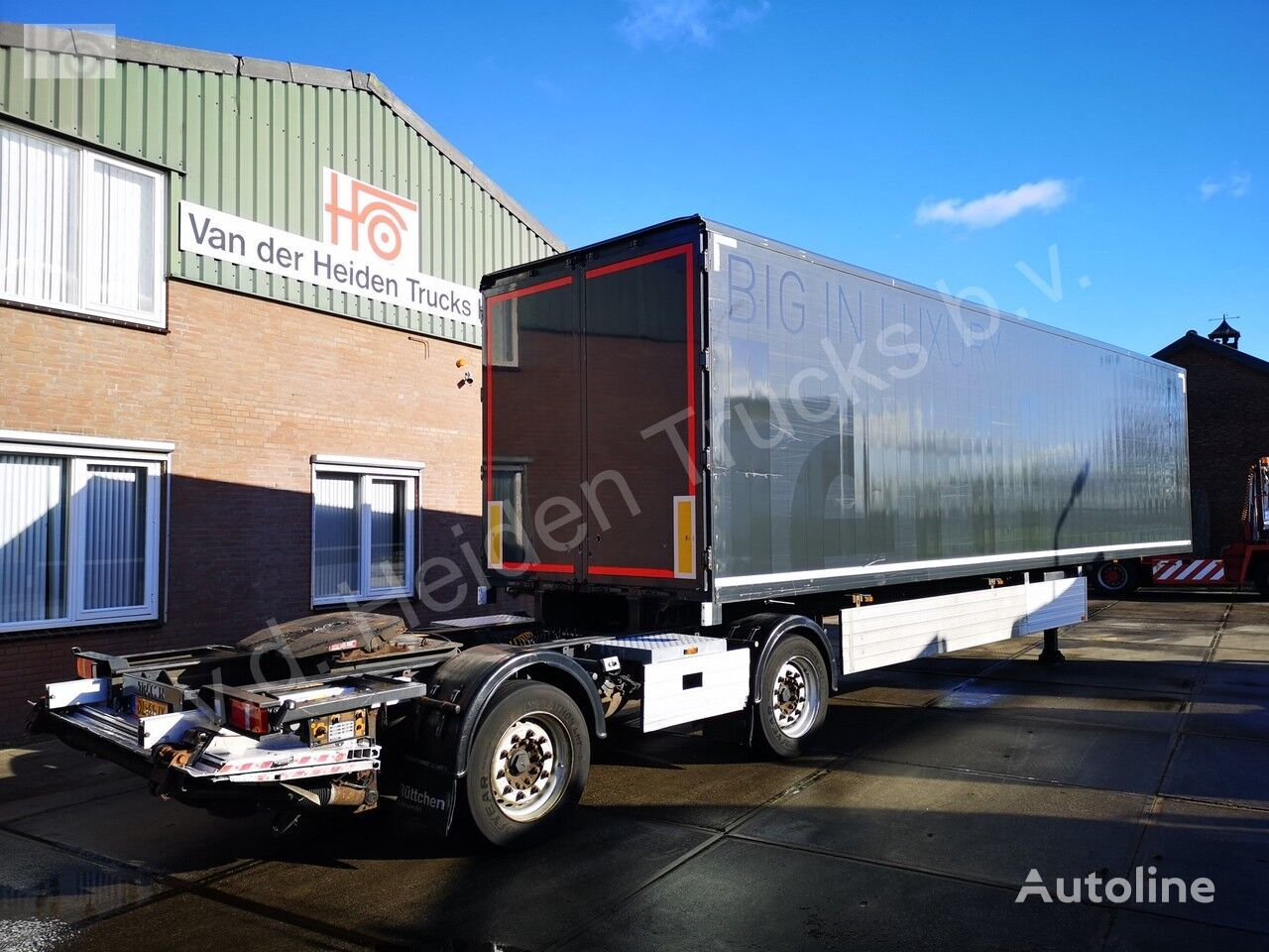 полуприцеп фургон TRACON TB1218 | LZV OPLEGGER