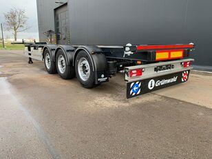 новый полуприцеп контейнеровоз GRUNWALD GSC 40'HC, 3700kg