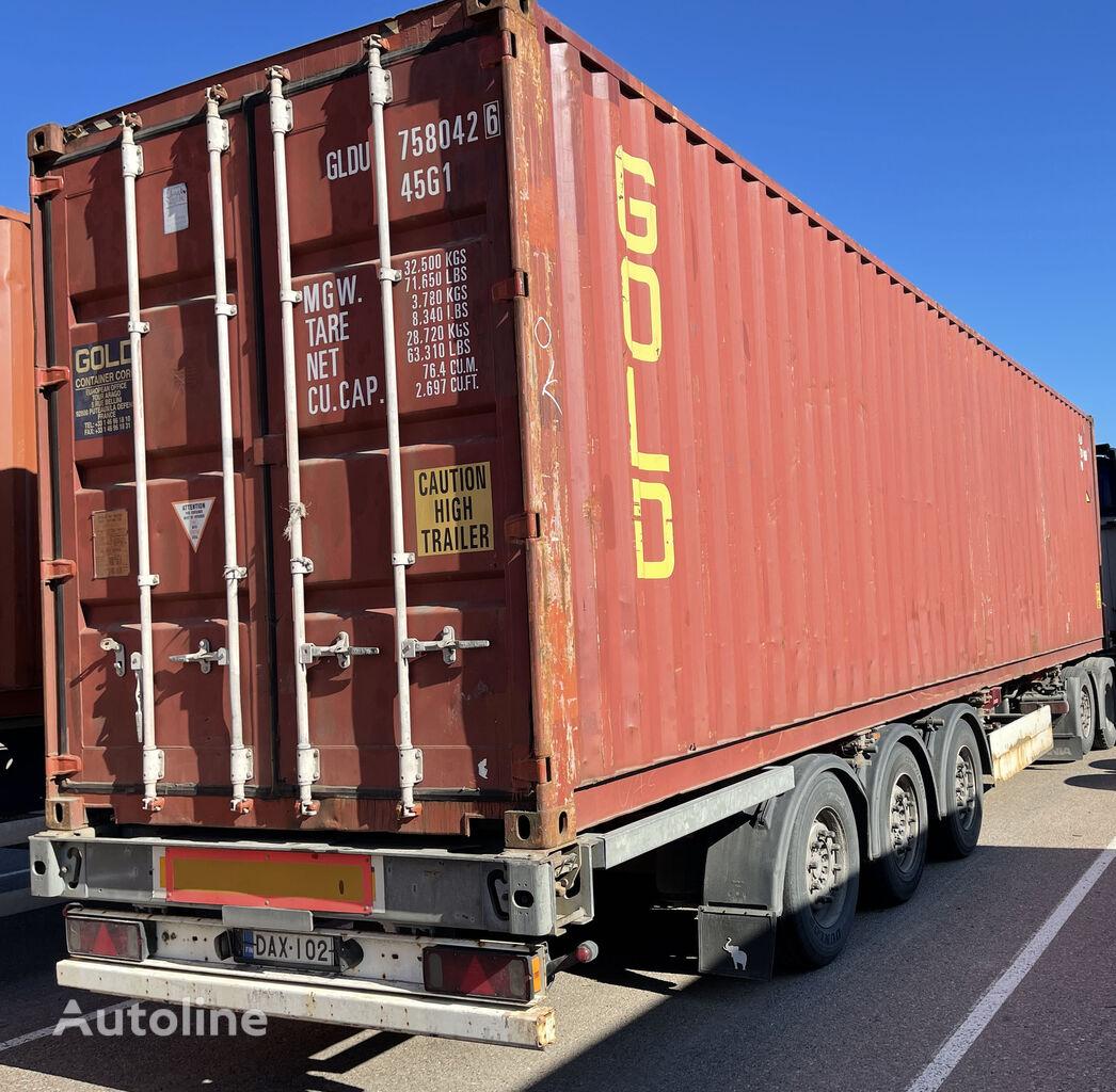 полуприцеп контейнеровоз SCHMITZ CARGOBULL SCF 24