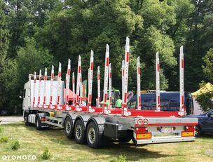 новый полуприцеп лесовоз CARMOSINO Aluminiowa / 10 x ECCO ALU7 / 5.100 kg