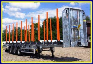новый полуприцеп лесовоз ZASŁAW TRAILIS 4.600 KG Super Light Timber semi-trailer - READY !!!