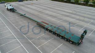 новый полуприцеп низкорамная платформа DONAT гидравлический низкорамный трал с телескопическим удлине