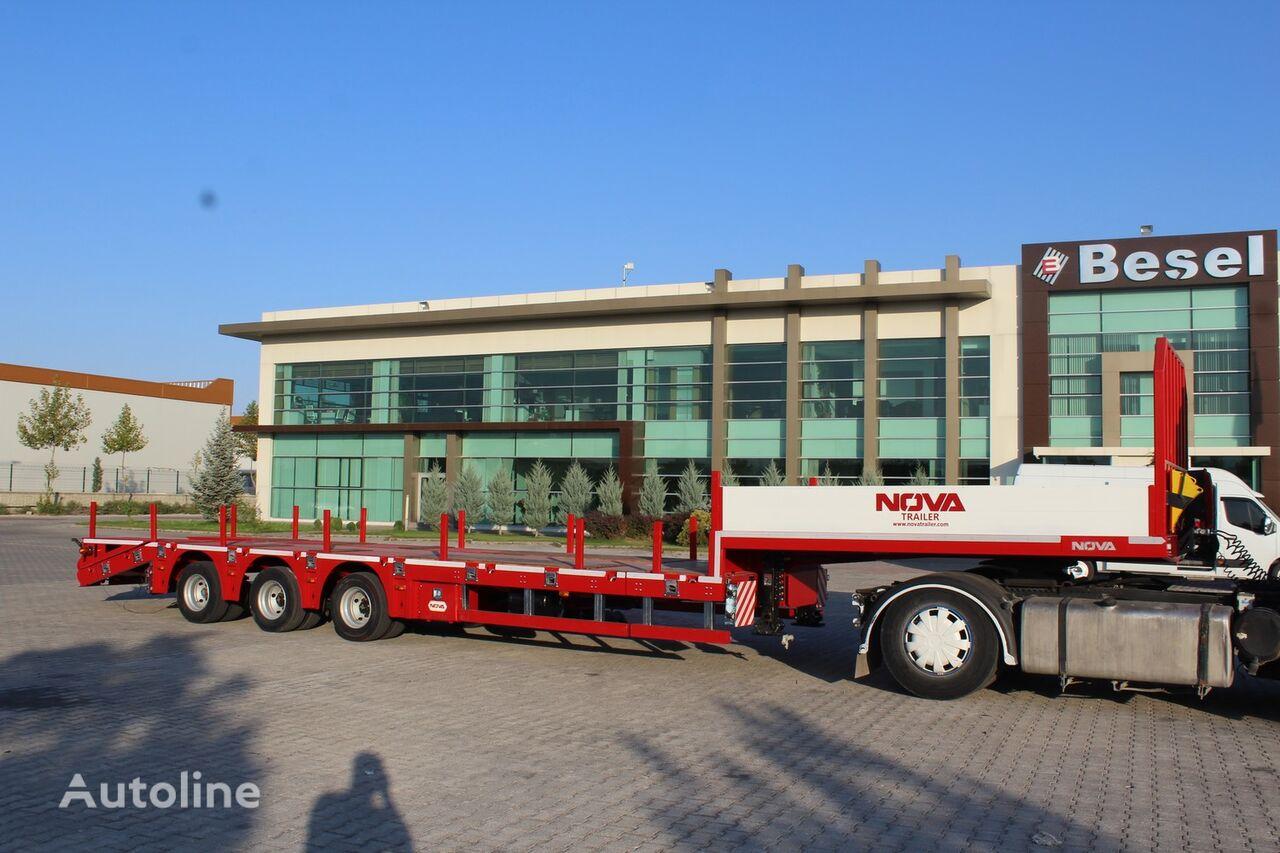 новый полуприцеп низкорамная платформа NOVA PLATFORM LOWBED TRAILER MANUFACTURING COMPANY
