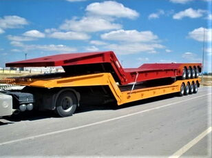 новый полуприцеп низкорамная платформа AME 120 Ton 4 Axle Front Loading Lowbed Semi-Trailer