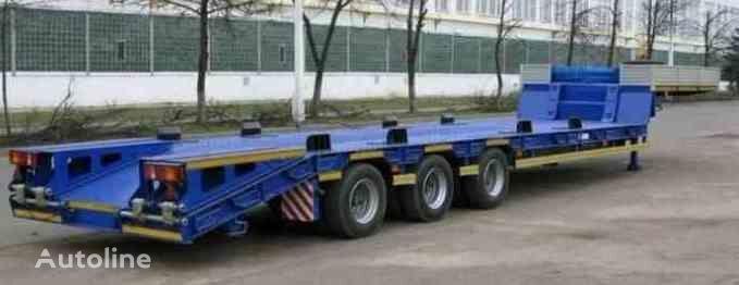 новый полуприцеп низкорамная платформа МАЗ 997700