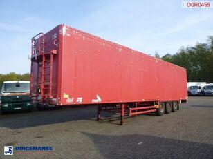 полуприцеп с подвижным полом STAS Walking floor trailer alu 90 m3