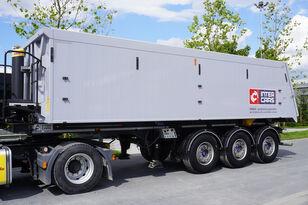 полуприцеп самосвал Inter Cars WN 35 m3. aluminum, weight own . 6.550 kg, LIKE NEW