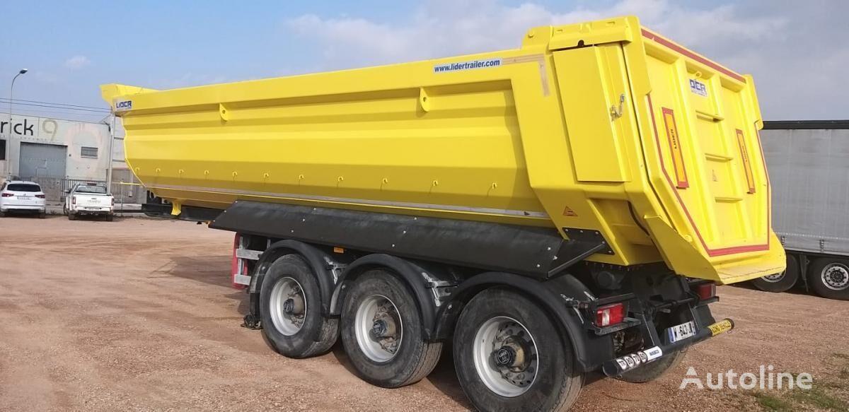 полуприцеп самосвал LIDER trailer HARDOX 450