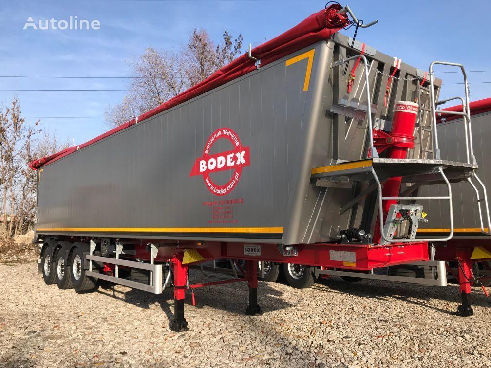 новый полуприцеп самосвал BODEX 55m3 алюминиевый