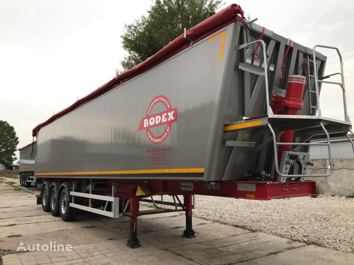 новый полуприцеп самосвал BODEX KIS 3W-A 60m3 alum NEW
