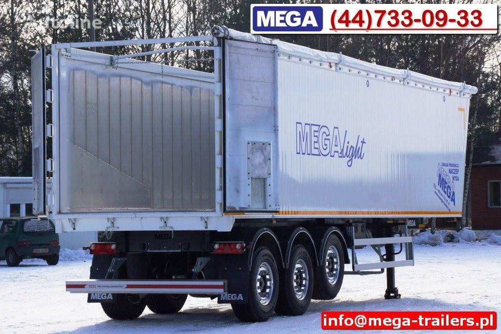 новый полуприцеп самосвал MEGA 10,4 m / 60 M³ ALUM TIPPER SUPER LIGHT 6,2 T ! READY & NEW !