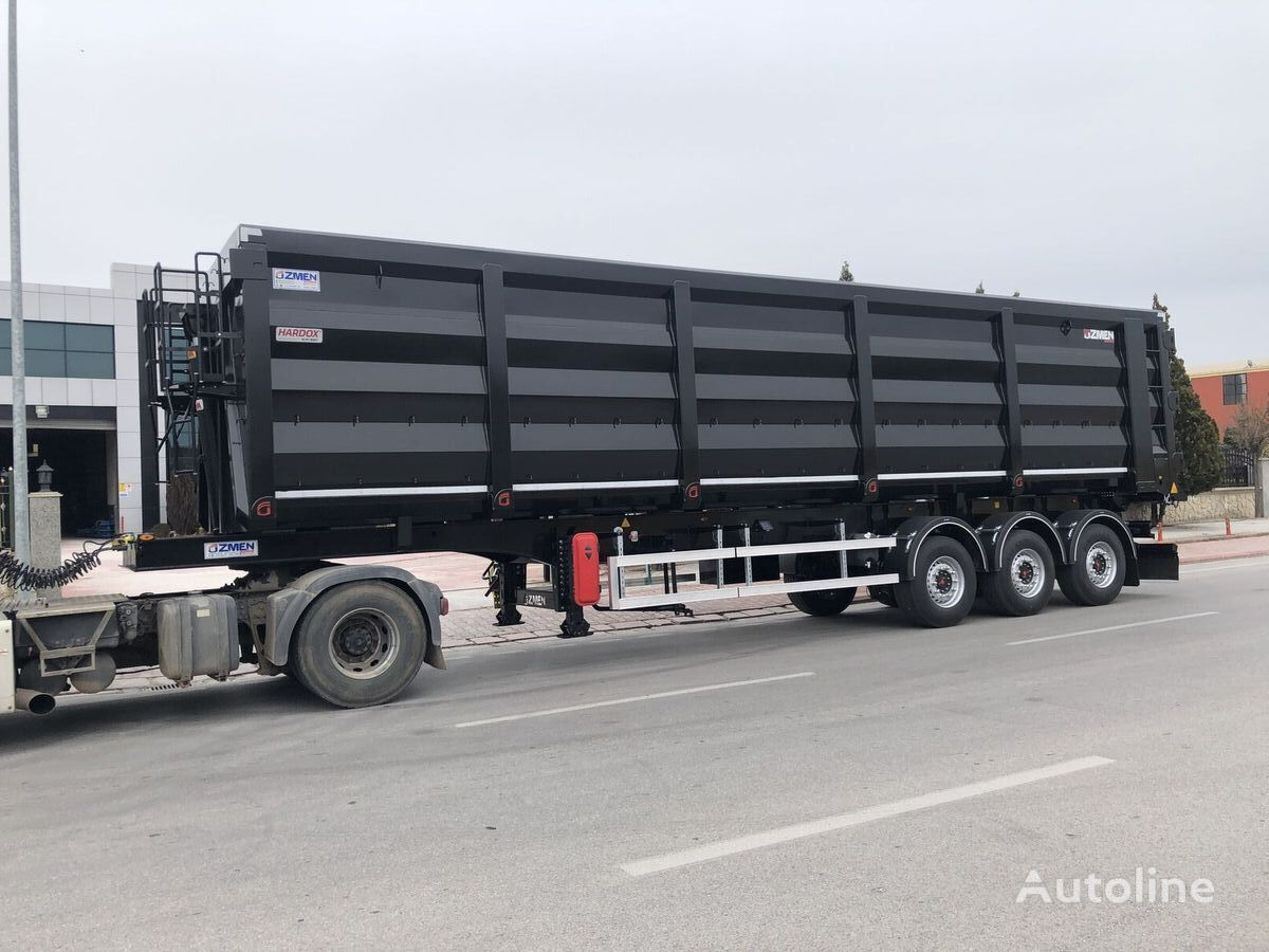 новый полуприцеп самосвал ÖZMEN DAMPER 70-80 m3 H-450 SCRAP METAL CARRIER TIPPER SEMI TRAILER
