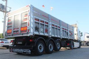 новый полуприцеп зерновоз CARSAN CTS11