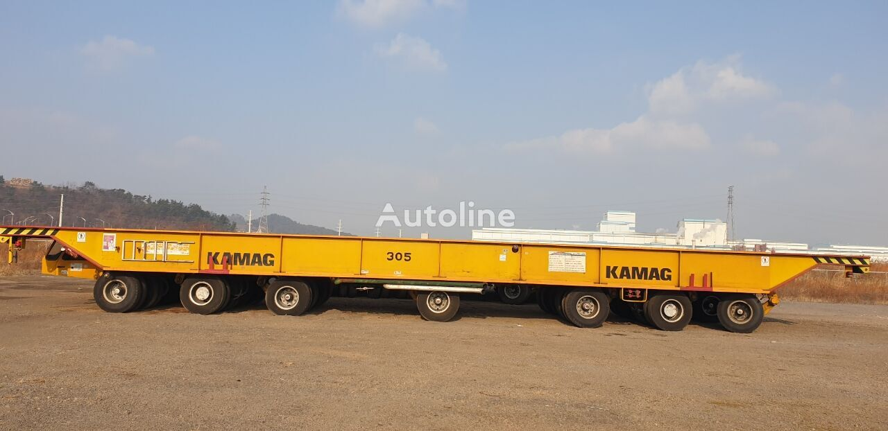 самоходный модульный транспортер KAMA Kamag Transporter